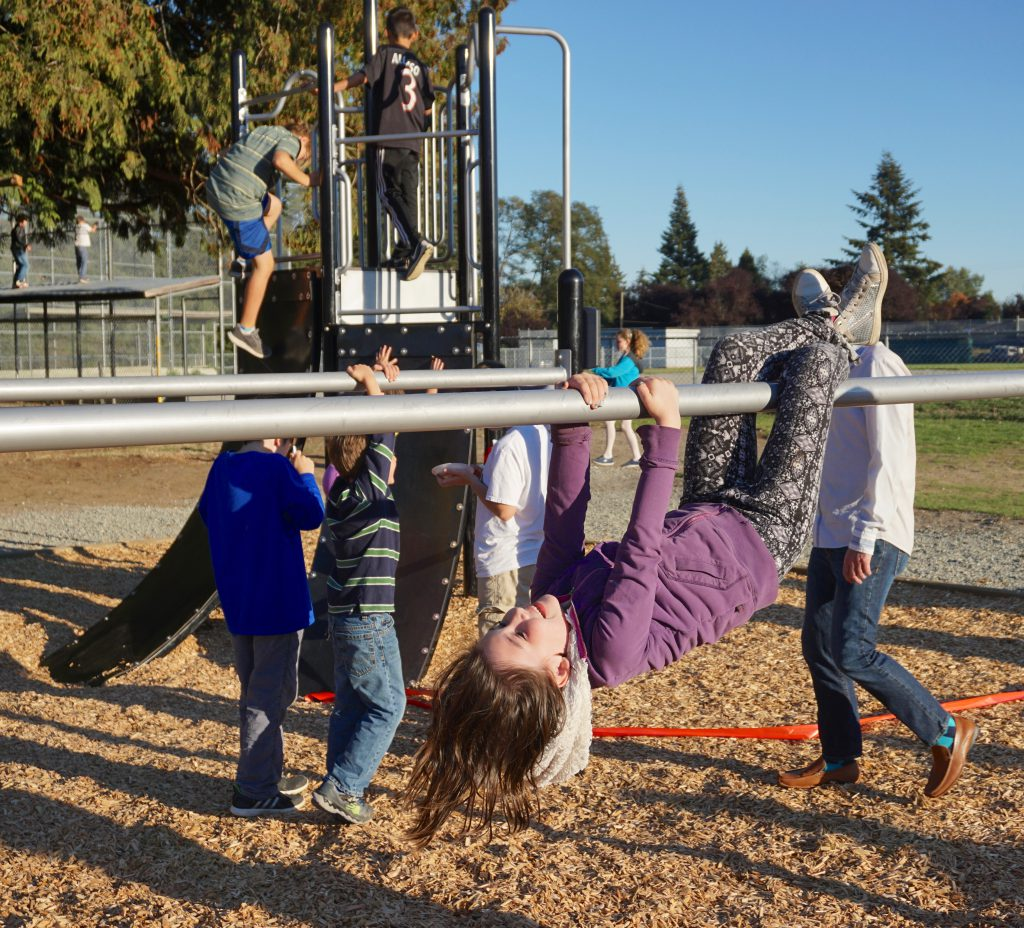 Obstacles Are Fun At Cliff Drive Delta School District