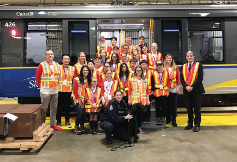Delta School District: Pebble Hill Class Wins Behind-the-Scenes Tour From