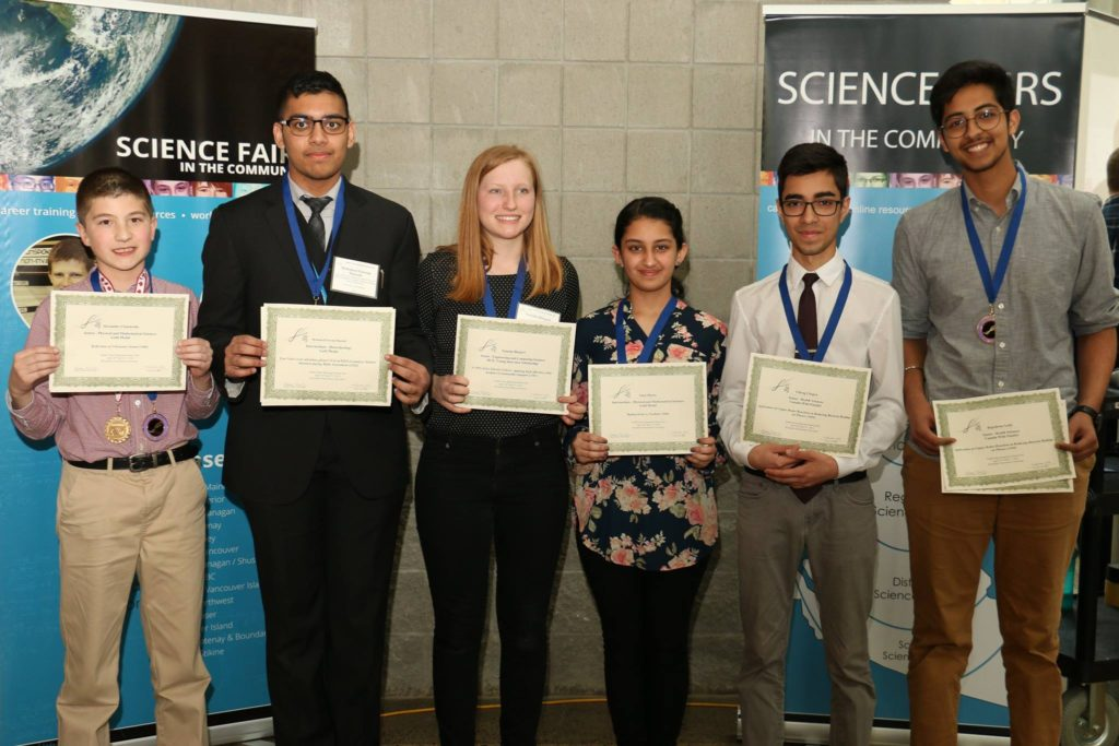 student winners science fair